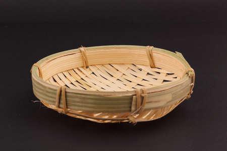 weaving: bamboo weaving Dustpan