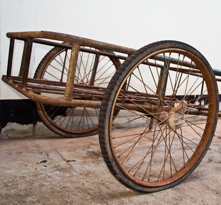 Wheel can be applied using a cart.