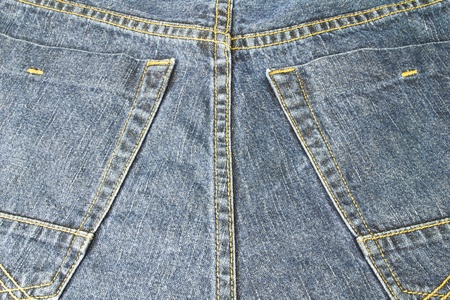 Blue jeans for men and for general wear. Standard-Bild