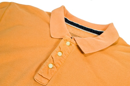 Orange polo shirts, casual wear for men in general.