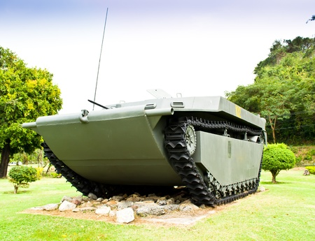 An Armored Personnel Carrier