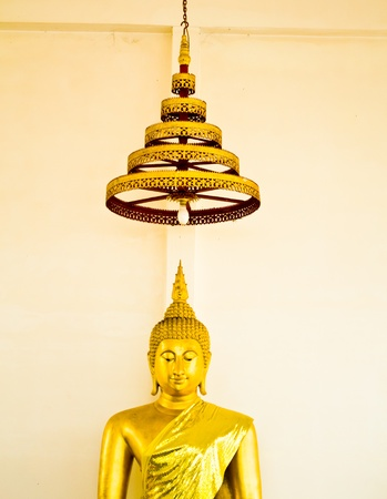 Buddha Buddhist temple in Thailand. Stock Photo