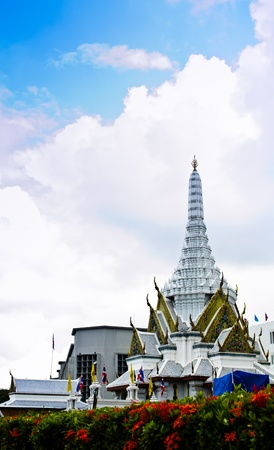 Bangkok, Thailand is the central point that people respect. Stock Photo - 11268396