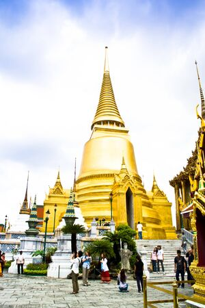 The Wat Phra Kaew, Bangkok, Thailand. Editorial