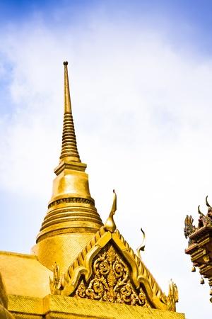 Palace, the Wat Phra Kaew, Bangkok, Thailand.