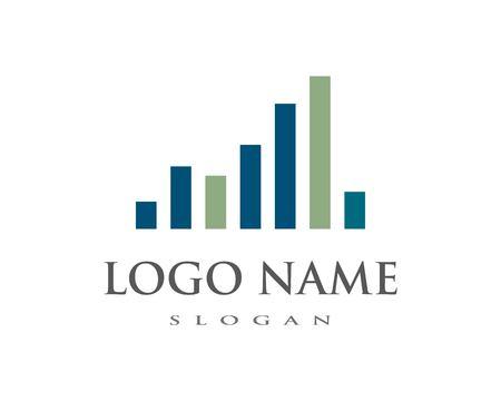 sound wave ilustration logo vector icon template Stock Illustratie