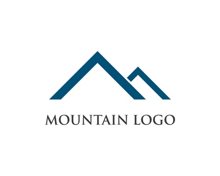 High Mountain icon  Logo Business Template Vector 일러스트