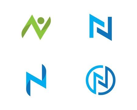 N Letter Logo Business Template Vector icon Illustration