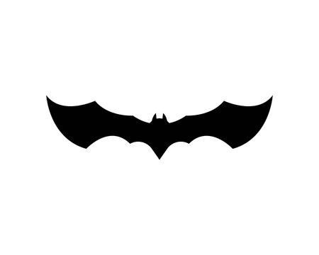 bat ilustration  logo vector Standard-Bild - 110723079