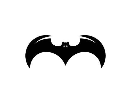 bat ilustration  logo vector Standard-Bild - 110723089