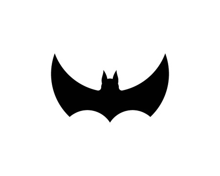 bat ilustration  logo vector Standard-Bild - 110732988