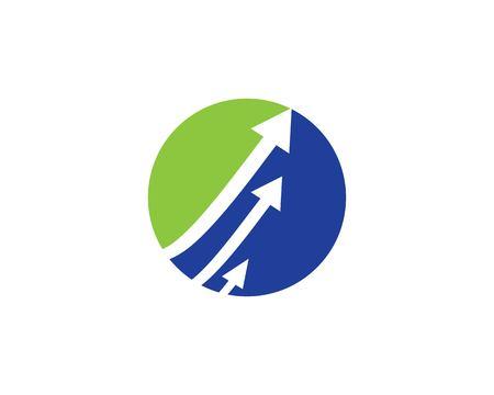 Arrows vector illustration icon Logo Template design Archivio Fotografico - 110739925