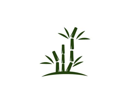 bamboo ilustration logo vector template Illustration