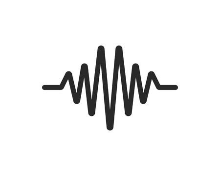 pulse line vector template 向量圖像