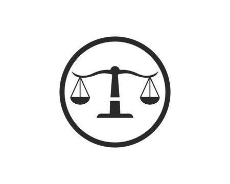 law logo vector template