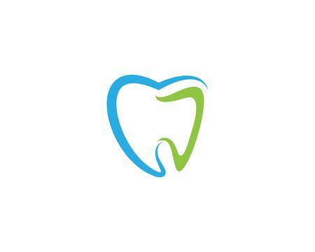 Dental logo Template vector illustration icon design Banco de Imagens - 118496508