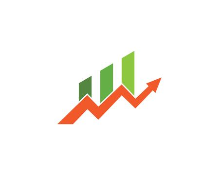 Business Arrow professional logo template vector icon