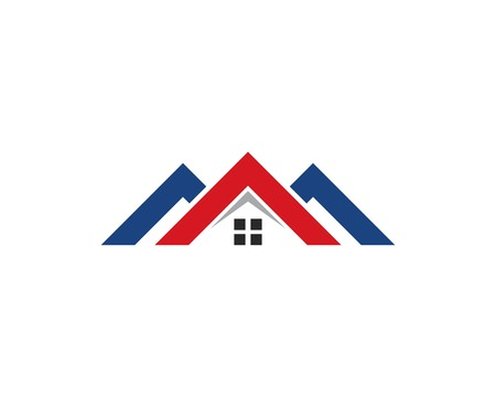 Property and Construction Logo design for business corporate sign Illustration