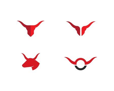 Taurus Logo Template vector icon illustration