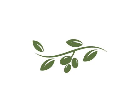 olive logo template vector design