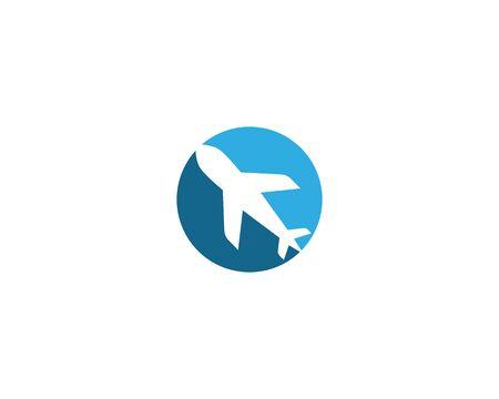 Air Plane logo vector template