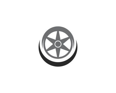 Tires logo vector template