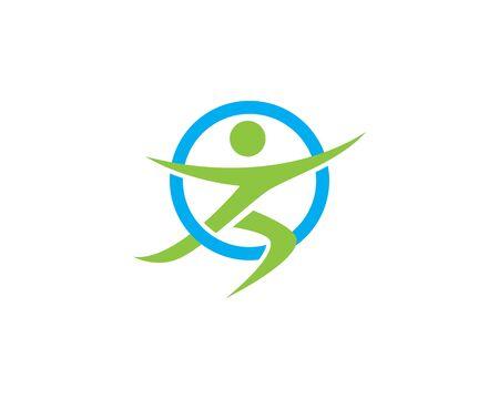 Healthy Life Logo template vector icon