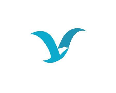 Bird wing Logo Template vector illustration