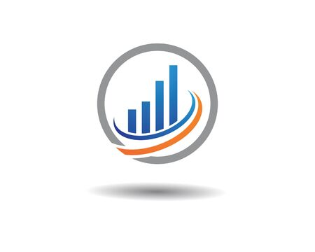 Business Finance professional logo template vector icon 일러스트