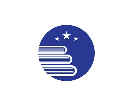 Education book Logo Template vector illustration design