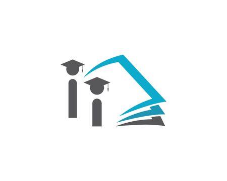 Education Logo Template vector illustration design