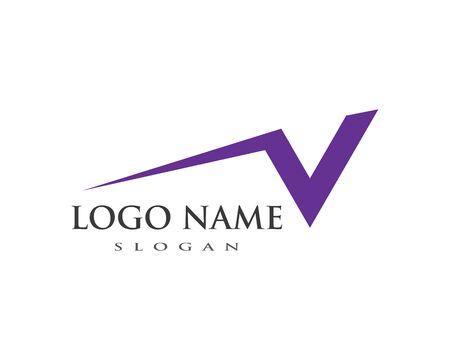 Faster Logo Template vector icon illustration design Ilustracja