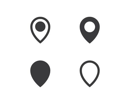 Location point Logo vector