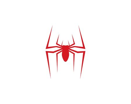 spider logo vector for business