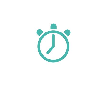 Fast Time logo vector template