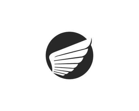 Wing Logo Template vector icon design