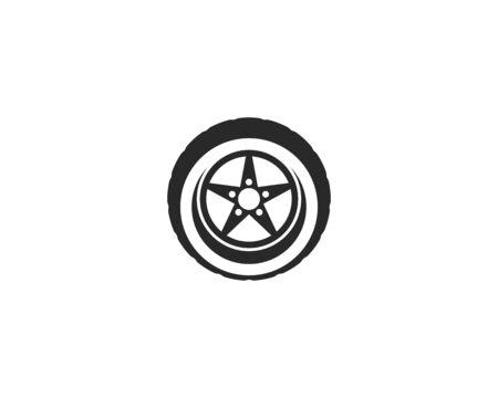 Tires logo vector template Stock Vector - 127676171