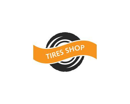 Tires logo vector template Stock Vector - 127676206