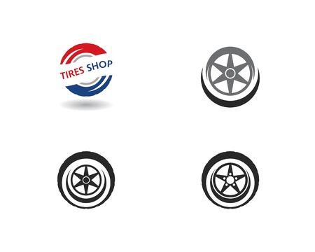 Tires logo vector template Stock Vector - 127676214