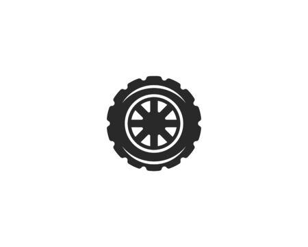 Tires logo vector template Stock Vector - 127676237