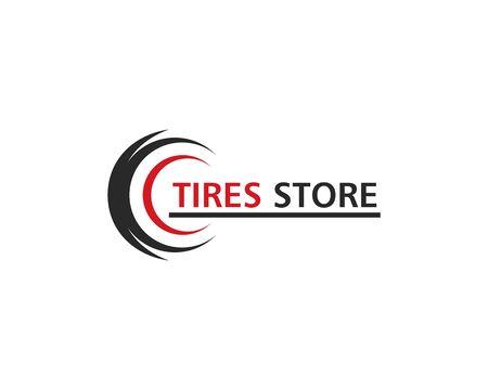 Tires logo vector template Stock Vector - 127676269