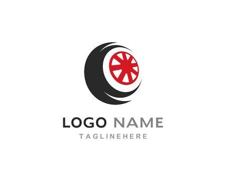 Tires logo vector template Stock Vector - 127676281