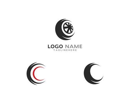 Tires logo vector template Stock Vector - 127676299