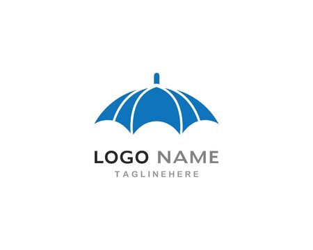 umbrella logo vector template