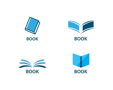 Education Book Logo Template vector illustration design Illustration