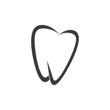 Dental logo Template vector illustration icon design Zdjęcie Seryjne - 129141214