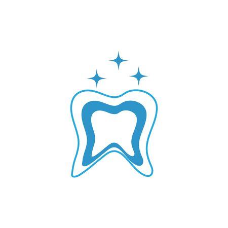 Dental logo Template vector illustration icon design Zdjęcie Seryjne - 129141216