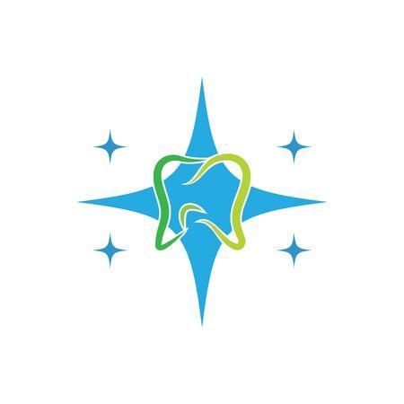 Dental logo Template vector illustration icon design Banque d'images - 129141259
