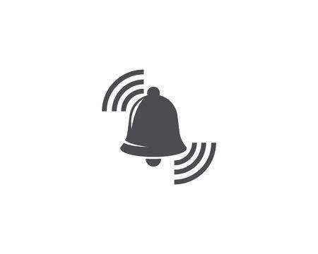 Bell logo vector template Standard-Bild - 129141286