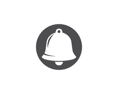 Bell logo vector template Standard-Bild - 129141504